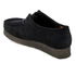 Clarks Originals Women's Wallabee Shoes - Black Suede: Image 4