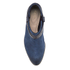 Clarks Women's Breccan Shine Suede Heeled Ankle Boots - Navy: Image 3