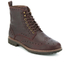 Clarks Men's Montacute Lord Brogue Lace Up Boots - Chestnut: Image 2