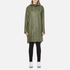 Ilse Jacobsen Women's Light True Rain A Line Coat - Army: Image 1
