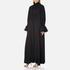KENZO Women's Crepe Back Satin Maxi Dress - Black: Image 2