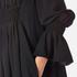 KENZO Women's Crepe Back Satin Maxi Dress - Black: Image 5