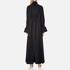 KENZO Women's Crepe Back Satin Maxi Dress - Black: Image 3
