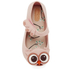 Mini Melissa Toddlers' Ultragirl Owl Ballet Flats - Baby Pink: Image 3
