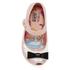 Mini Melissa Toddlers' Mini Alice Ultragirl Flats - Nude Bow: Image 3