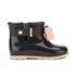 Mini Melissa Toddlers' Sugar Rain Bow Boots - Black Contrast: Image 1