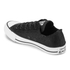 Converse Women's Chuck Taylor All Star Sting Ray Leather Ox Trainers - Black/Black/White: Image 4
