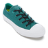 Converse Women's Chuck Taylor All Star II Shield Canvas Ox Trainers - Cool Jade/White/Aegean Aqua: Image 2