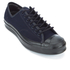 Converse Men's Jack Purcell Twill Shield Canvas Ox Trainers - Inked/Inked/Almost Black: Image 2