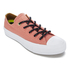 Converse Women's Chuck Taylor All Star II Shield Canvas Ox Trainers - Pink Blush/White/Relic Gold: Image 2