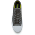Converse Men's Chuck Taylor All Star II Reflective Wash Ox Trainers - Shale Grey/Pure Silver/White: Image 3