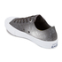 Converse Men's Chuck Taylor All Star II Reflective Wash Ox Trainers - Shale Grey/Pure Silver/White: Image 4