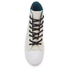 Converse Women's Chuck Taylor All Star II Shield Canvas Hi-Top Trainers - Buff/Cool Jade/White: Image 3