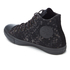 Converse Men's Chuck Taylor All Star Denim Woven Hi-Top Trainers - Black/Storm Wind/Storm Wind: Image 4