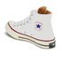 Converse Chuck Taylor All Star '70 Hi-Top Trainers - White/Egret/Black: Image 4