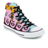 Converse Chuck Taylor All Star Warhol Hi-Top Trainers - Lichen/Orchid Smoke/White: Image 2