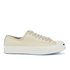 Converse Men's Jack Purcell Twill Shield Canvas Ox Trainers - Natural/Natural/Egret: Image 1