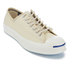 Converse Men's Jack Purcell Twill Shield Canvas Ox Trainers - Natural/Natural/Egret: Image 2