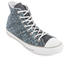 Converse Men's Chuck Taylor All Star Denim Woven Hi-Top Trainers - Polar Blue/White/Dolphin: Image 2