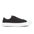 Converse Chuck Taylor All Star II Ox Trainers - Black/White/Navy: Image 1