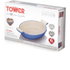 Tower IDT90007 21.5cm Cast Iron Au Gratin - Blue: Image 4