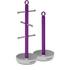 Morphy Richards 971333 Towel Pole Mug Tree Set - Orchid: Image 1