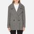 Maison Scotch Women's Boxy Fit Short Wool Jacket - Multi: Image 1