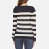 Maison Scotch Women's Striped Crew Neck Jumper - Multi: Image 3