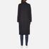 Maison Scotch Women's Longer Length Tailored Coat - Navy: Image 3