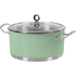 Morphy Richards 973036 Accents 24cm Casserole - Green: Image 1