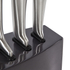 Morphy Richards 974814 Accents 5 Piece Knife Block - Black: Image 2