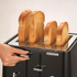 Morphy Richards Aspect Steel 4 Slice Toaster and Kettle Bundle - Black: Image 2