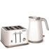 Morphy Richards Aspect Steel 4 Slice Toaster and Kettle Bundle - White: Image 1