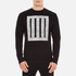McQ Alexander McQueen Men's Clean Crew Neck Sweatshirt - Darkest Black: Image 1
