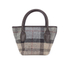 Barbour Women's Tartan Mini Tote Bag - Winter Tartan: Image 6