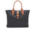 Barbour Women's Wax Shopper Bag - Navy: Image 6