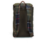 Barbour Men's Tartan And Wax Backpack - Olive: Image 5