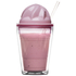 Sagaform Sweet Plastic Milkshake Cup 350ml - Pink: Image 3
