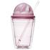 Sagaform Sweet Plastic Milkshake Cup 350ml - Pink: Image 1