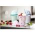 Sagaform Sweet Plastic Milkshake Cup 350ml - Blue: Image 2