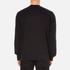 Alexander Wang Men's Embroidered Barcode Logo Sweatshirt - Black: Image 3