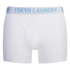 Tokyo Laundry Men's 2-Pack Bryant Boxers - Light Grey Marl/White: Image 4