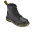 Dr. Martens Kids' Delaney Leather Lace Boots - Black: Image 2