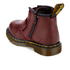 Dr. Martens Toddlers' Brooklee BV Velcro Leather Boots - Cherry Red: Image 4