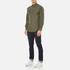 Polo Ralph Lauren Men's Long Sleeve Poplin Shirt - Rustic Sage: Image 4