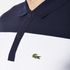 Lacoste Men's Short Sleeve Bold Stripe Polo Shirt - Navy Blue/White/Red: Image 5
