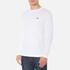 Lacoste Men's Long Sleeved Crew Neck T-Shirt - White: Image 2