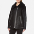 Gestuz Women's Lulle Shearling Jacket - Black: Image 2
