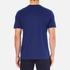 Lacoste L!ve Men's Large Logo Crew T-Shirt - Jazz/White/Navy Blue: Image 3