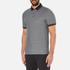 Michael Kors Men's Tipped Birdseye Polo Shirt - Black: Image 2